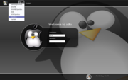 Figure 1: The KDE/Openbox option when logging in